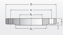 Straight Flanges (PN40)